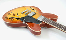 Load image into Gallery viewer, VINTAGE VSA500 REISSUED SEMI ACOUSTIC GUITAR ~ HONEYBURST