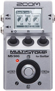 Zoom MS-50G MultiStomp Multi Effects Pedal