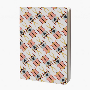 "Boutique iTEMS - Notebook A6 image ""rhinoceros beetle"" de la marque hollandaise studio ROOF."