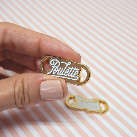 "Boutique iTEMS - Lace locks ""Poulette Forever"" de la marque Lolita Picco."