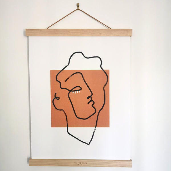 Boutique iTEMS - Affiche 30 X 40 CM Apollon Terracotta de la marque Shandor.