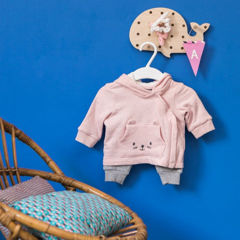 Boutique iTEMS - Pegboard baleine de la marque basque Little Anana.