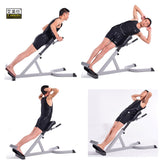 Roman Chair Multi-Functional Folding Waist Exercise Fitness Chair Dumbbell Stool Goat Chair Fitness Equipment