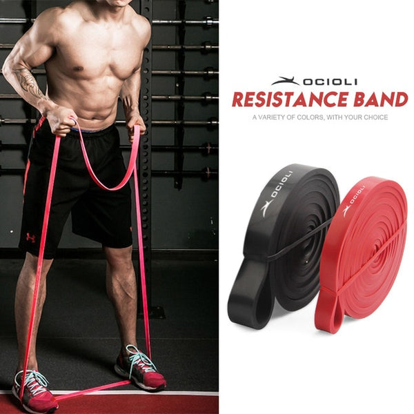 Fitness 2/Set Natural Latex Resistance Pull Up