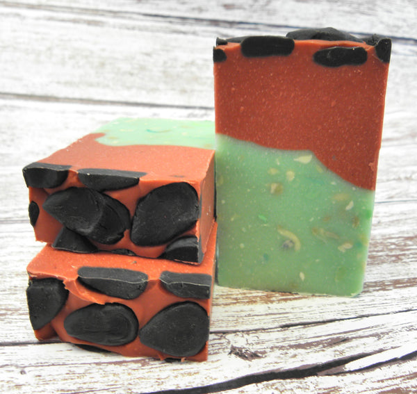Sugared Watermelon soap bar
