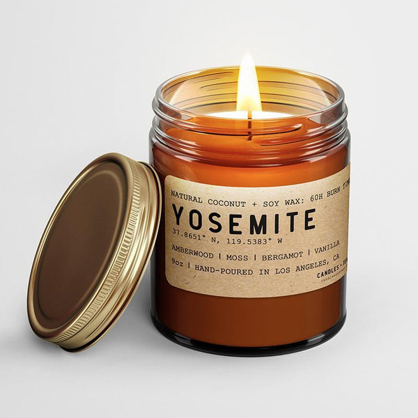Yosemite: California Scented Candle (Amberwood, Moss, Bergamot,