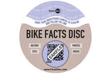 Load image into Gallery viewer, Bike Facts Disc