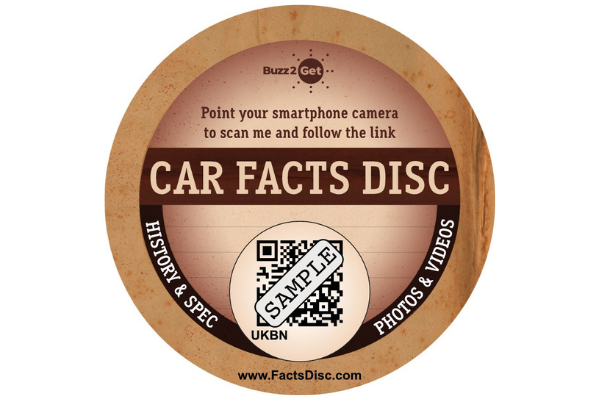 Classic Car Facts Disc