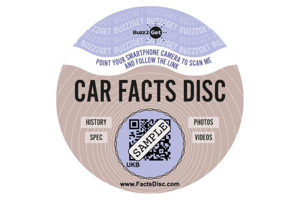 Modern Car Facts Disc