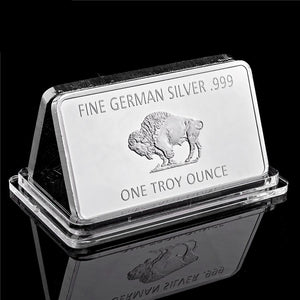 Germany Buffalo Silver Bar ( 1 Troy Ounce )