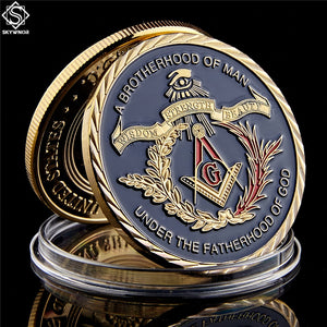 European Masonic Commemorative Gold Coin