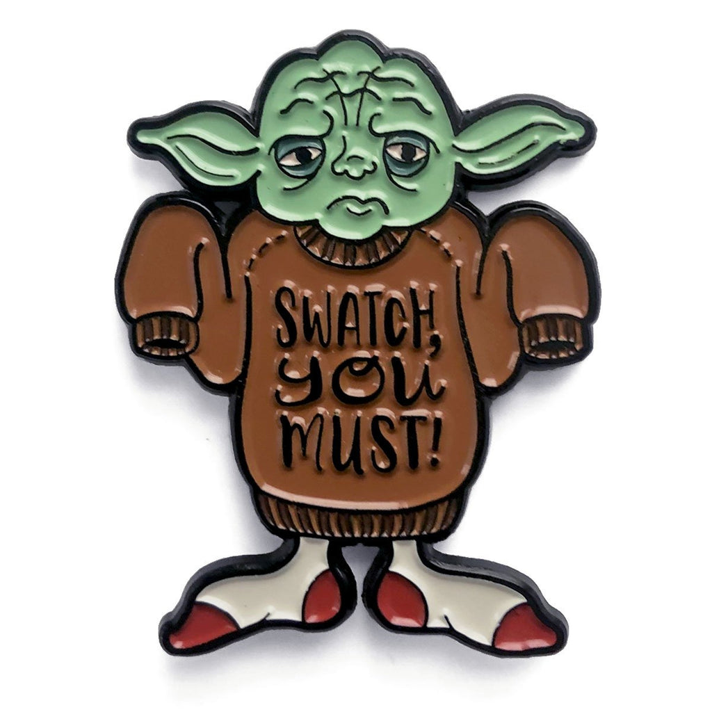 Shelli can star wools jedi enamel pin