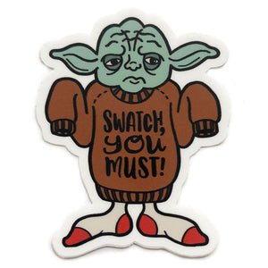 Shelli Can Star Wools, Jedi Sticker