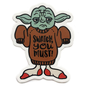 Star wools Jedi sticker Shelli can