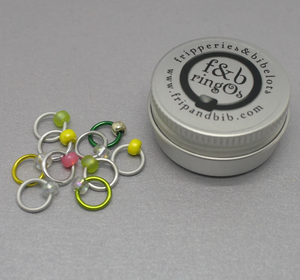 ringOs Serenity~ Snag Free Ring Stitch Markers for Knitting