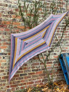 Parallelolamb Shawl Kit, Pattern by Stephen West