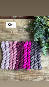 Dyed to order - Recollect Cowl Kit Pattern By Jenn Steingass