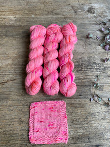 Dyed to order - Botanical yarn - Cherry Blossom