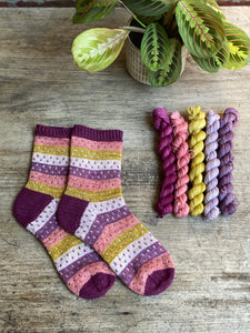 Dyed to order - Rumphuis socks mini skein set