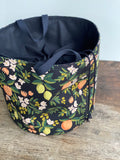 Made to order - Botanical yarn - Project bag style 03 -  design 01