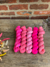 Load image into Gallery viewer, Dyed to order - Cherry Blossom Five Skein Kit