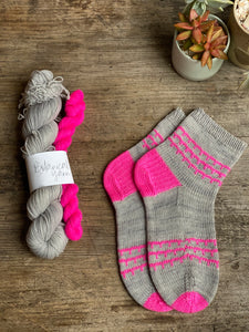 Sock kit - neon pop