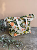 Made to order - Botanical yarn - Project bag style 02 -  design 05