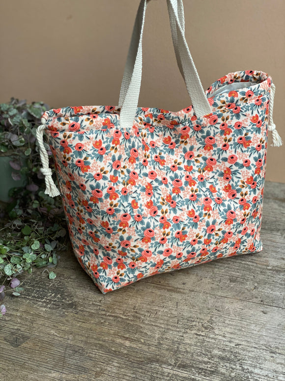 Made to order - Botanical yarn - Project bag style 02 -  design 02