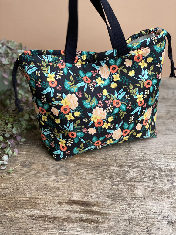 Made to order - Botanical yarn - Project bag style 02 -  design 01