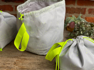 Made to order - Botanical yarn - Project bag style 01 -  Unravel Festival exclusive