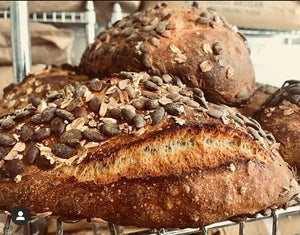 Seeded Sourdough Bread