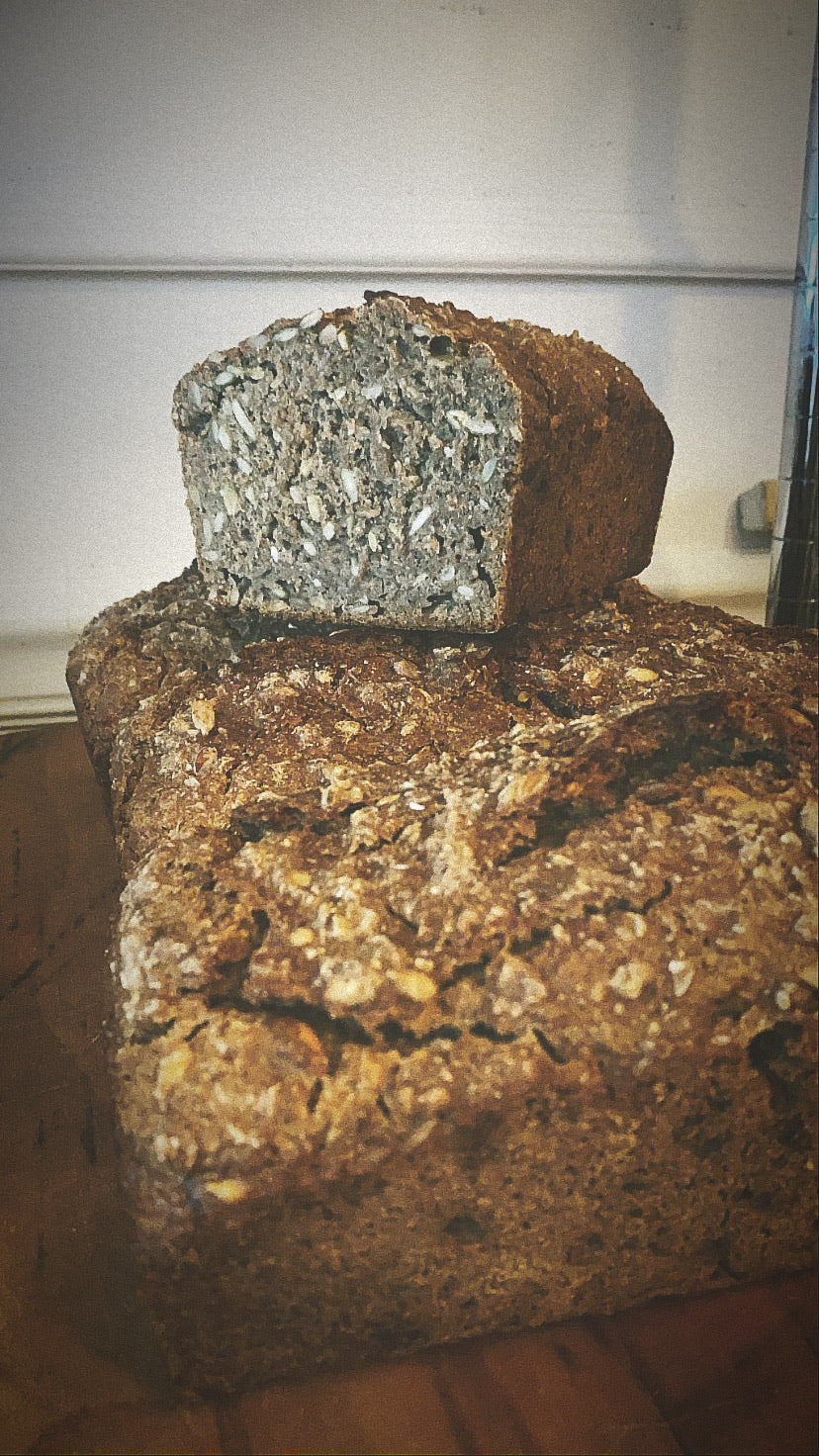 Danish Rye Bread - Whole Loaf, Holiday