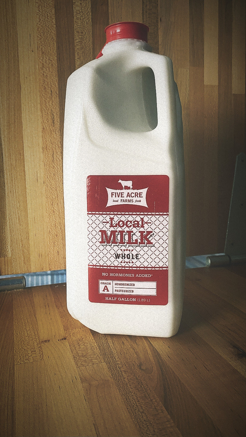 Local Organic Whole Milk