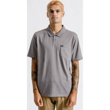 Load image into Gallery viewer, Carlos S/S Pocket Polo - Grey
