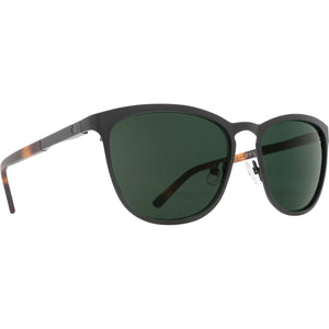 Cliffside Matte Black/Matte Honey Tort - Happy Gray Green