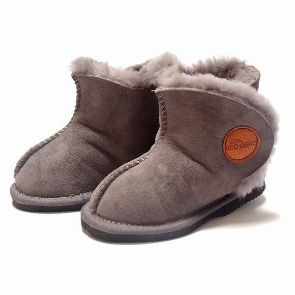 Eco Peko Merino Boot : Charcoal
