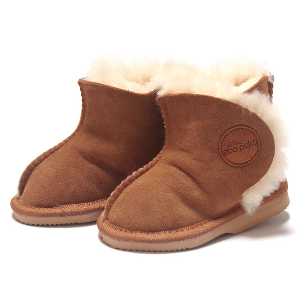 Eco Peko Merino Boot : Tan