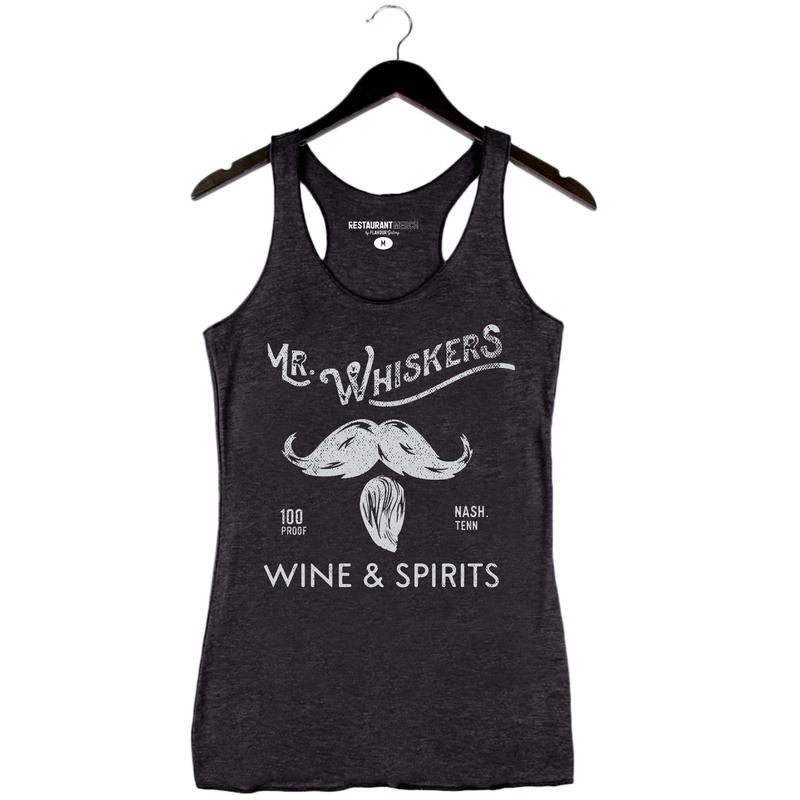 On Sale 6/17 - Mr. Whiskers - Nashville - Black Tank