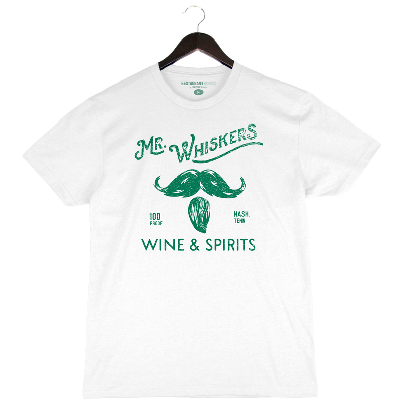 On Sale 6/17 - Mr. Whiskers - Nashville - White Crew