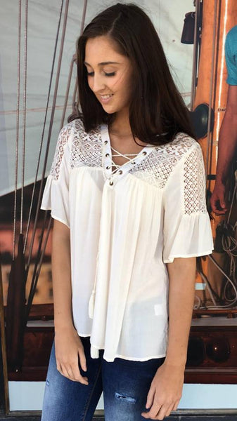 Rumour Blouse  OFF WHITE