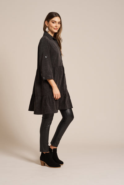 Eb & Ive Florence Top Dress Onyx