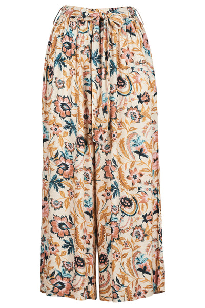 Eb & Ive Zena Pant Buff Botanical