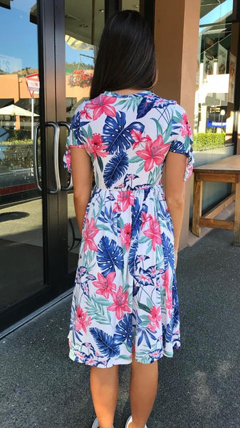 Tropical Getaway Dress