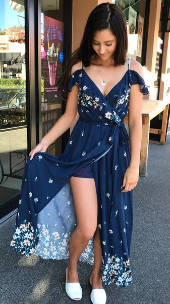 Summer Escape Maxi NAVY