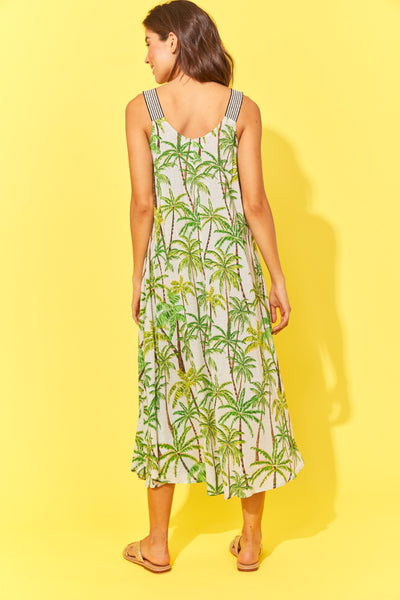 Haven Paradise Tank Maxi Lime Palm
