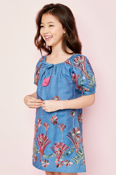 Summer Dreams Denim Tunic (Girls)
