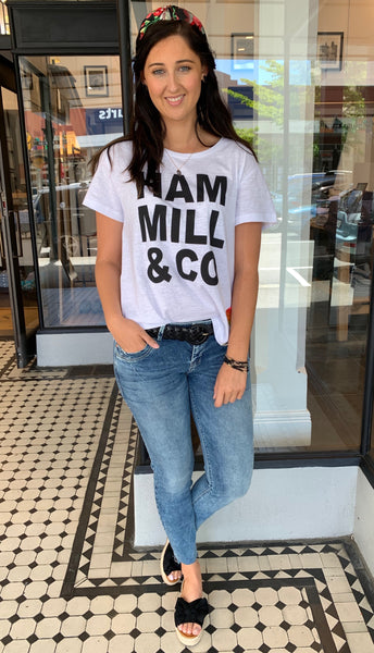 Hammill + Co Logo Tee