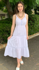 Amelius Halo Dress White