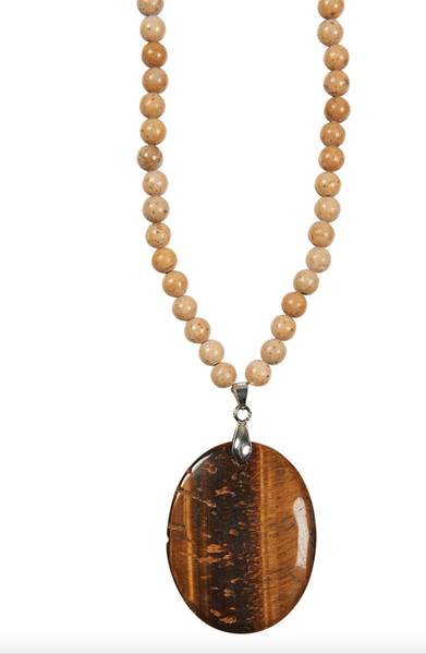 Eb & Ive Mwana Stone Necklace Stone