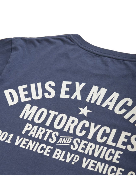 Deus Ex Machina Venive Address Tee Navy